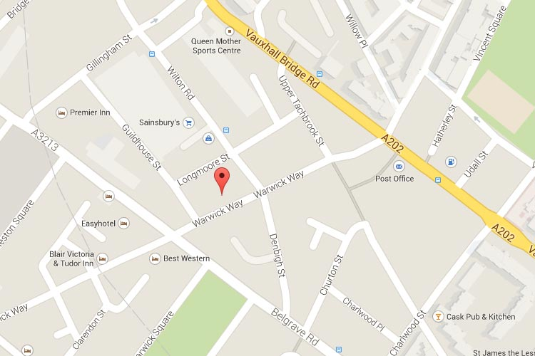 See Pimlico Trusted Local Locksmith location on Google maps